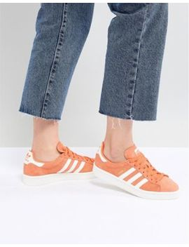 Adidas Originals Campus Sneakers In Orange by Adidas