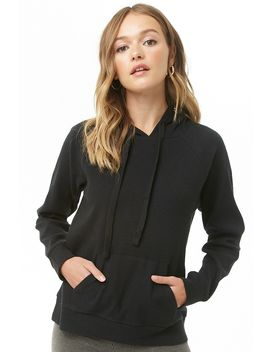 Brushed Hooded Top by Forever 21