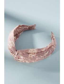 Fiona Floral Headband by Anthropologie