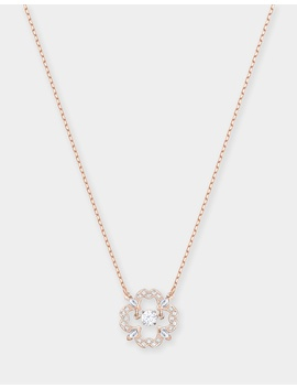 Sparkling Dance Flower Necklace by Swarovski