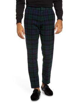 Ludlow Black Watch Tartan Tuxedo Pants by J.Crew