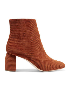 Cooper Corduroy Ankle Boots by Loeffler Randall