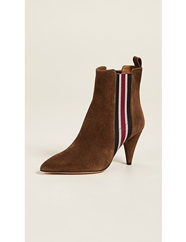 Flynne Suede Booties by Veronica Beard