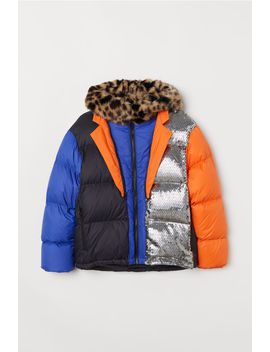 Block Coloured Down Jacket by H&M