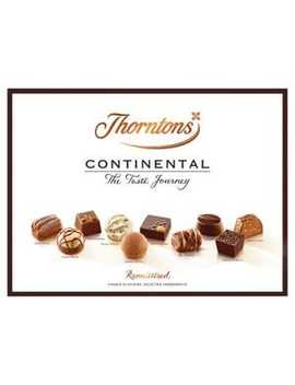 Thorntons The Taste Journey Continental Chocolate Box by Thorntons