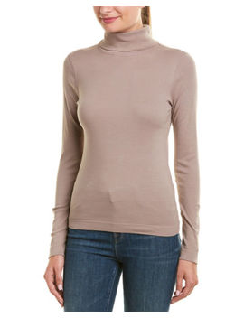 Three Dots Turtleneck Top by Three Dots