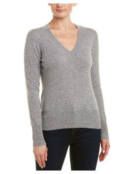 Sofiacashmere V Neck Cashmere Sweater by Sofiacashmere