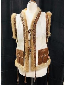 Roberto Cavalli Designer Exclusive  Rabbit (100 Percents) Fur Vest Jacket by Ebay Seller