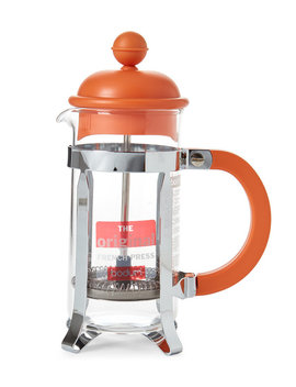 3 Cup Orange French Press by Bodum