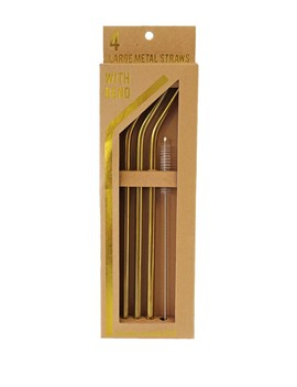 Large Bend Straws   Set Of 4 by Tmd Holdings