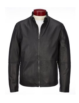 Lambskin Leather Hipster Jacket by Murano