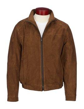 Daniel Cremieux Signature Suede Bomber Jacket by Cremieux