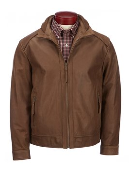 Smooth Buffalo Leather Jacket by Roundtree & Yorke