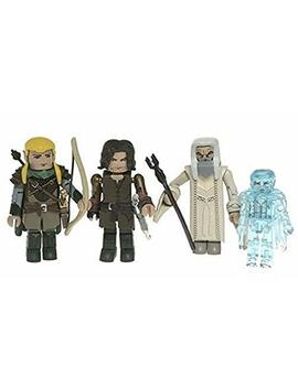 Pa Distribution, Inc. Lord Of The Rings Minimates 4 Pack: Aragorn, Legolas, Saruman, Twilight Frodo by Pa Distribution, Inc.