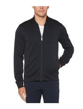 Ribbed Bomber Jacket by Perry Ellis