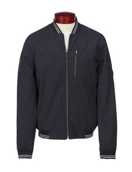 Poly Bond Stretch Bomber Jacket by Michael Kors