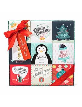Holiday Cocoa Variety Gift Set | 9 Different Festive Flavors Including Gingerbread, Salted Caramel,... by Thoughtfully