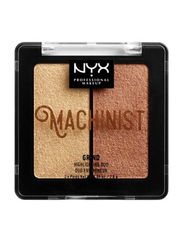 Nyx Professional Makeup Machinist Highlighter Duo Kit Grind 9g by Nyx Professional Makeup