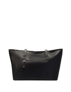 Mid Zip Tote Bag by Kiko Leather