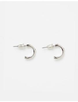 Cube Hoop Earrings Pack by Topman