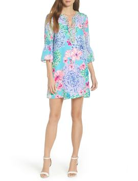 Elenora Floral Embellished Silk Dress by Lilly Pulitzer®