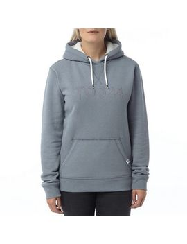 Tog 24   Slate Marl Dove Graphic Hoody by Tog 24