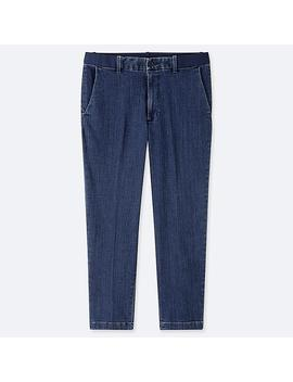 Men Ezy Ankle Pants (Denim) by Uniqlo