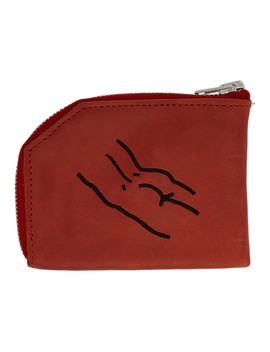Red Butt What Else? Wallet by Carne Bollente