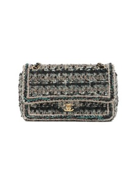 Classic Flap Multicolor Tweed Cross Body Bag by Chanel