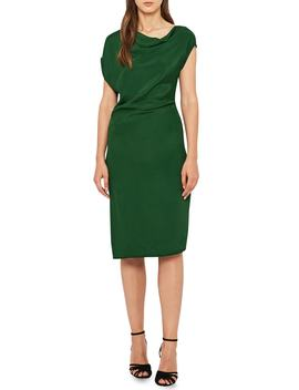 Lore Asymmetrical Cap Sleeve Dress by Reiss