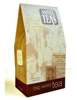 Novel Teas Contains 25 Teabags Individually Tagged With Literary Quotes From The World Over, Made... by Bag Ladies Tea