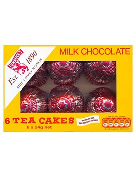 Tunnock's Tea Cakes   Real Milk Chocolate 6 X 24g Box by Laptop Traveller