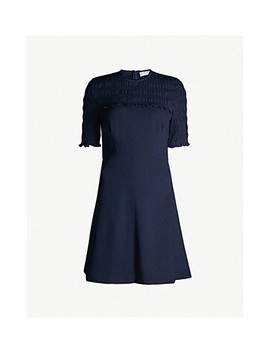 Fit And Flare Crepe Dress by Sandro