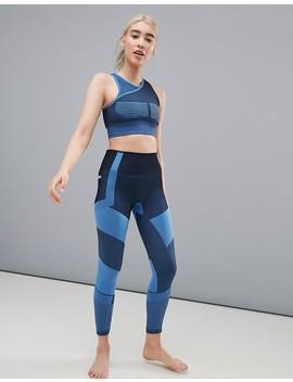Asos 4505 – Nahtlose Yoga Leggings Mit Strick Einsätzen by Asos