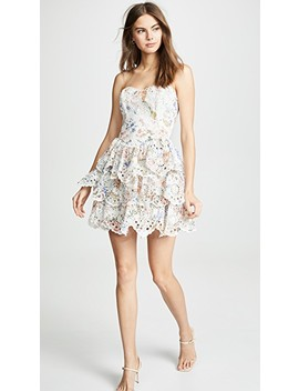 Bowie Ruffle Dress by Zimmermann