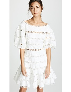 Bowie Contour Hailspot Dress by Zimmermann