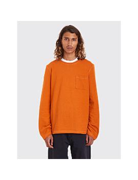 Très Bien Army Sweatshirt Overdye Burnt Orange by Très Bien