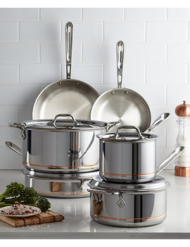 Copper Core 10 Pc. Cookware Set by All Clad