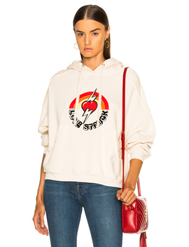 Oversized Love Struck Graphic Hoodie by Re/Done