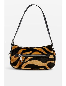 Kenya Tiger Shoulder Bag by Topshop