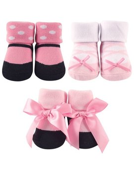 Baby Girl Socks Giftset, 3 Pack by Luvable Friends