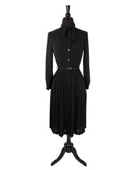 Japanische Gothic Sekretär Schwarz Kleid Von Mademoiselle, Vintage 1980er Tokio Marke Gucci Mui Mui Stil Kuro Lolita, Gothabilly Tag, Datum by Etsy
