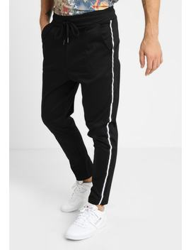 Style Stretch With Side Taping   Tygbyxor by Boohoo Man