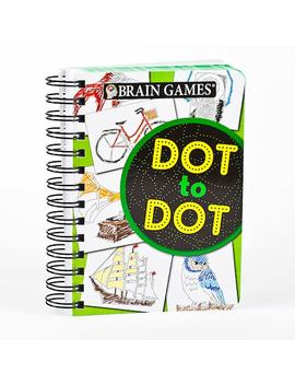 Brain Games Dot To Dot Book By Publications International, Ltd. by Kohl's