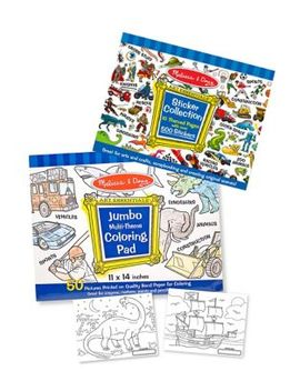 Coloring And Sticker Pad Bundle by Melissa & Doug