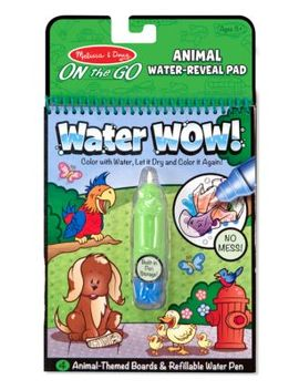 Water Wow No Mess Animal Coloring Book by Melissa & Doug
