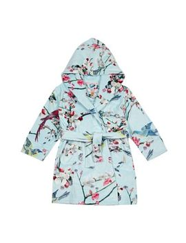 Baker By Ted Baker   Girls' Blue Oriental Inspired Print Dressing Gown by Baker By Ted Baker