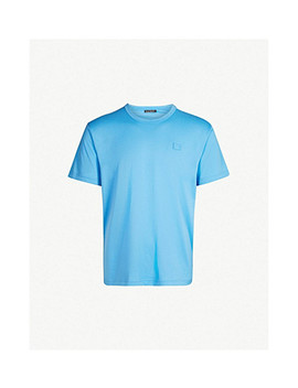 Nash Logo Patch Cotton Jersey T Shirt by Acne Studios