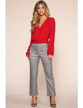 Good Girls Go Plaid Pants by Priceless