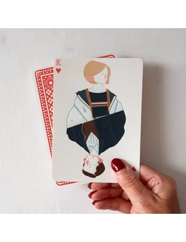 13x Dr Who Themed Playing Cards by Etsy